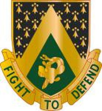 240th Cavalry Regiment (United States) - Image: 240th Cavalry Regiment DUI