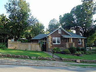 Wilson Park Historic District - 25 Davidson Street, a contributing property in the Wilson Park Historic District, August 2012
