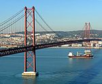 25th April Bridge and boat-2.JPG