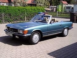 Mercedes benz baureihe 107