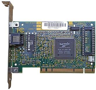 Fast Ethernet - 3Com 3C905B-TX 100BASE-TX PCI network interface card
