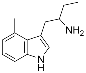 4-Methyl-α-ethyltryptamine - Image: 4 Methyl AET