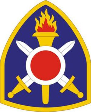 402nd Field Artillery Brigade (United States) - 402nd FA Brigade shoulder sleeve insignia