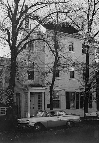 Elisha C. Dick - Dick-Janney House, 408 Duke Street
