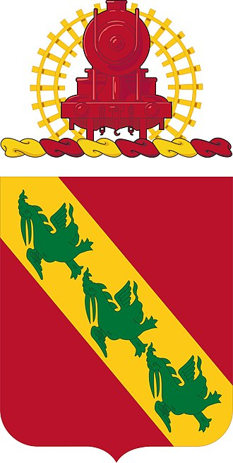 43rd Air Defense Artillery Regiment - Coat of arms