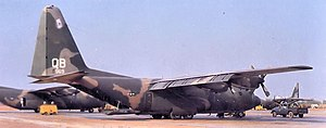 315th Air Division - Image: 463d Tactical Airlift Wing 29th TAS Lockheed C 130B LM Hercules 61 0969 July 1969 at Cam Rahn Bay AB Souh Vietnam