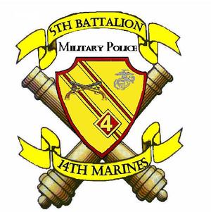 5th Battalion, 14th Marines - 5/14 Insignia