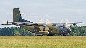 Transall C-160 - A German Air Force Transall at ILA 2016