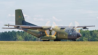 Transall C-160 - A German Air Force Transall at ILA 2016