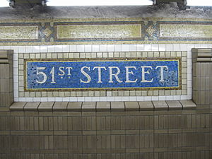 Lexington Avenue/51st Street (New York City Subway)