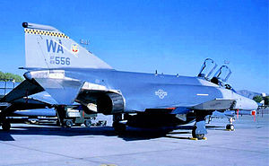 "561st Fighter Squadron - 561st FS F-4G ""Wild Weasel"" anti-SAM Phantom 69-7566"