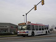 The new face of SEPTA's bus fleet which is the New Flyer D40LF.