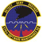 579 Software Maintenance Sq emblem.png
