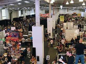 Wizard Entertainment - The floor of the 2013 Wizard World New York Experience at Pier 36 in Manhattan