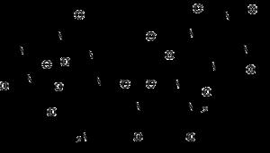 Strukturformel 7-Aminoactinomycin
