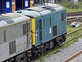 73107 and 73208 at Tonbridge West Yard (13816693684).jpg