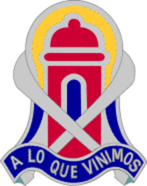 92nd Maneuver Enhancement Brigade (United States) - Image: 92inbde DUI
