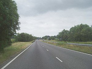 A22 road - Image: A22 Godstone Bypass geograph.org.uk 23444