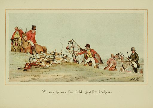 ABC of fox hunting (Plate 22) BHL22810443