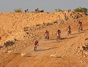 Abu Dhabi Adventure Challenge - Mountain biking across Abu Dhabi's rich natural landscape will be one of the exciting stages for this year's competitors