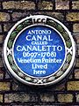ANTONIO CANAL CALLED CANALETTO (1697-1768) Venetian Painter Lived here.jpg