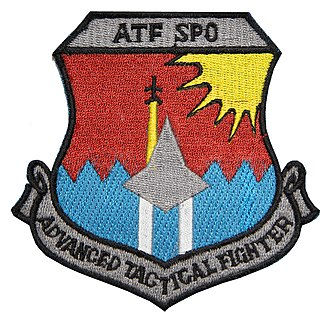 Lockheed Martin F-22 Raptor - ATF SPO Patch, 1990