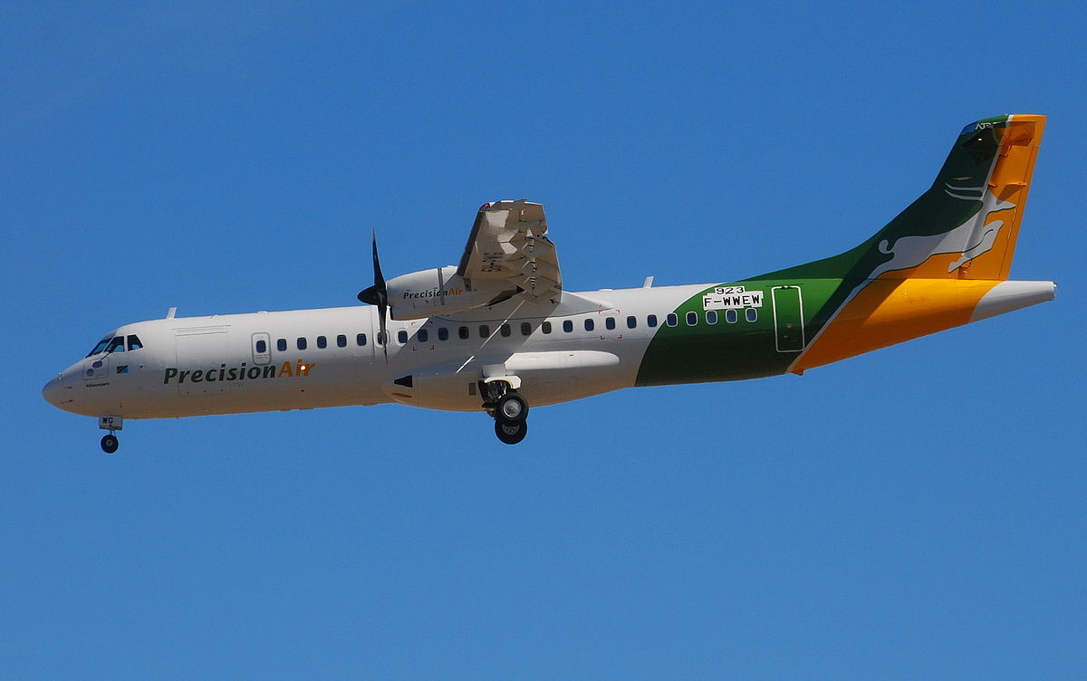 ATR 72-500 der Precision Air  - Africa's Low-Cost Airlines