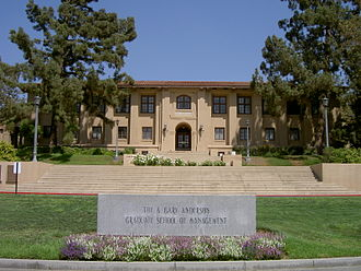 University of California, Riverside - The original UC Citrus Experiment Station which now houses the A. Gary Anderson Graduate School of Management at the UCR School of Business Administration.