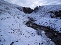 A Snowy Footpath To Carn nam Bo Maola - geograph.org.uk - 85873.jpg