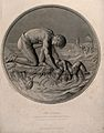 A child being rescued from a shipwreck, two women are in the Wellcome V0016538.jpg