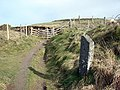 A gate on the Ceredigion Coastal Path - geograph.org.uk - 1167930.jpg