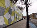 A mathematical wall at Queen Mary College (Geograph 3235650).jpg