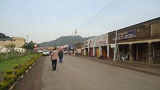 Kisoro - Image: A street in Kisoro town