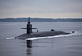 A submarine returns to its homeport. (38472468265).jpg