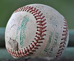 A worn-out baseball.JPG