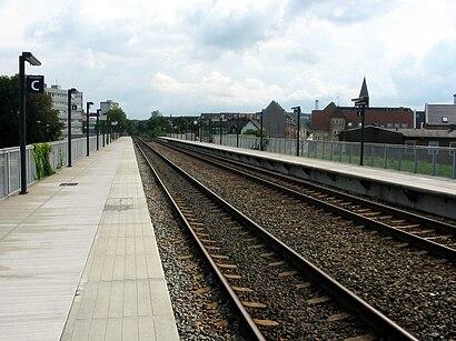 Sådan kommer du til Aalborg Vestby Station med offentlig transport – Om stedet
