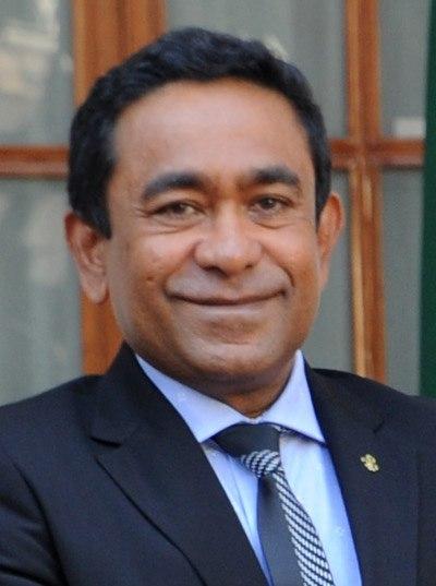 Abdulla Yameen Abdul Gayoom in January 2014