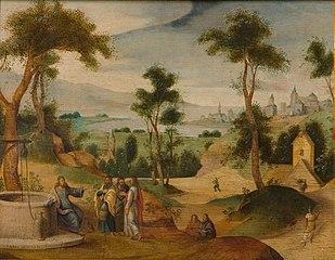 Christus bij de Jacobsbron