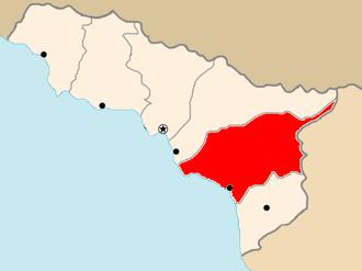 Ochamchire Municipality - Image: Abkhazia Georgia Ochamchire