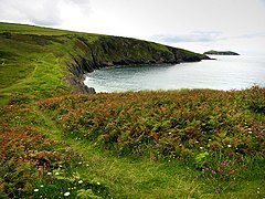 Above Traeth y Mwnt - geograph.org.uk - 545765