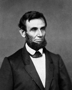 Religious views of Abraham Lincoln - The first photographic image of Lincoln as president