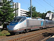 Acela Express, an American high-speed passenger train
