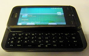 Acer neoTouch P300 - Acer Aspire P300 Smartphone