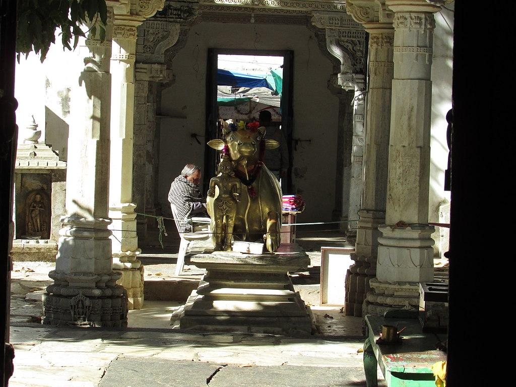 Achalgarh temple nandhi