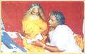 Acharya Dharmendra with his father Mahatma Ramchandra Veer.png