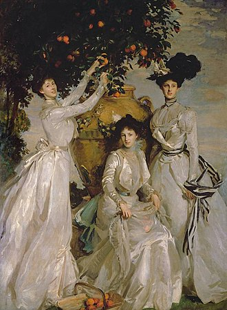 Alexander Cadogan - Acheson Sisters (Ladies Alexandra, Mary and Theo Acheson), John Singer Sargent, 1902
