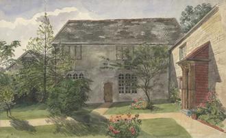 John Acland (died 1553) - Image: Acland Barton Landkey By Edward Ashworth 1851