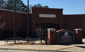 Acworth, Georgia - Acworth City Hall