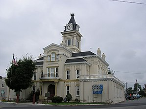 Das Adair County Courthouse in Columbia, gelistet im NRHP Nr. 74000847[1]