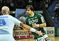 Adnan Harmandic dribbling DKB Handball Bundesliga HSG Wetzlar vs HSV Hamburg 2014-02 08 005.jpg